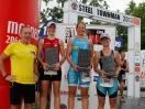 Siegerehrung Damen: Platz 1 (mitte) Jacqueline Kallina, Platz 2 (links) Stefanie Stadler, Platz 3 (rechts) Christine Schober